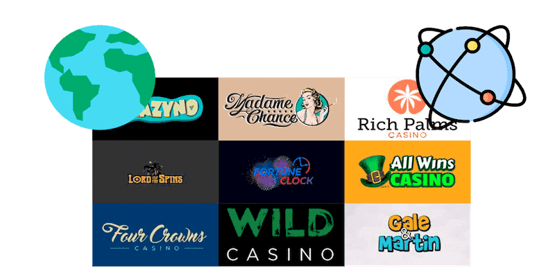 international offshore casinos based overseas