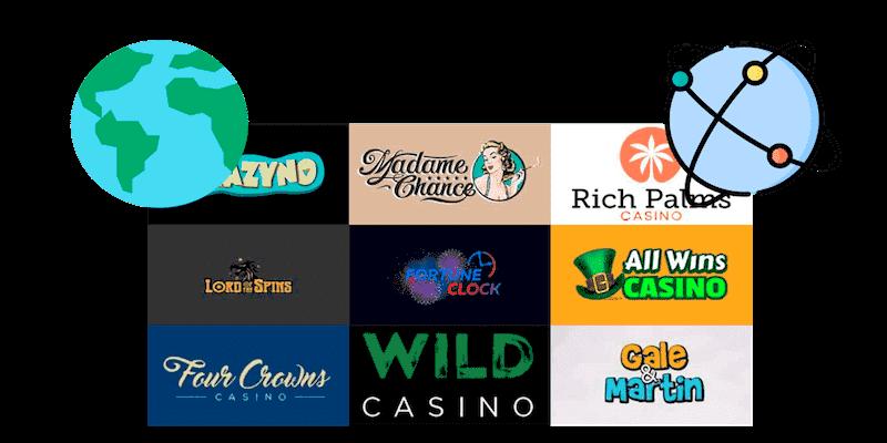 international casinos based overseas