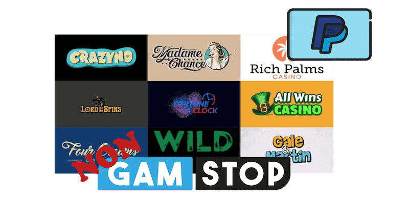 PayPal Casinos Not On Gamstop