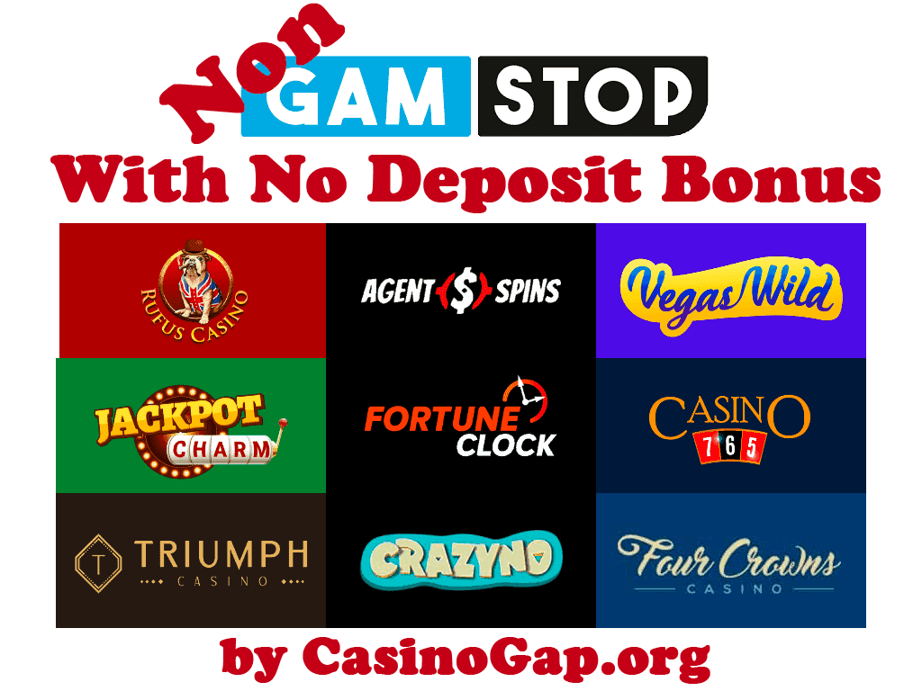 Casinos Not On Gamstop with No Deposit Bonus