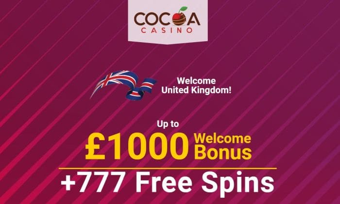 Bonus at Cocoa Online Casino