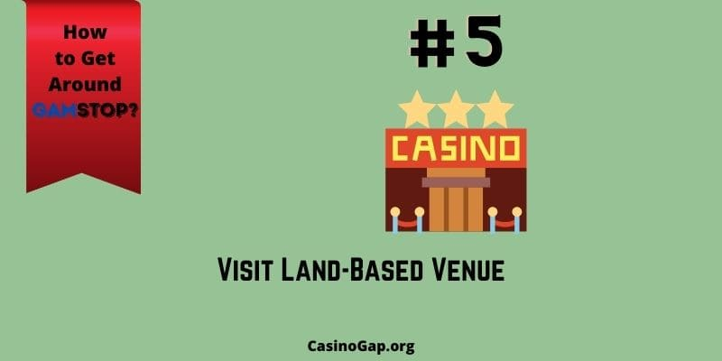 gamble at offline spots when on GamStop