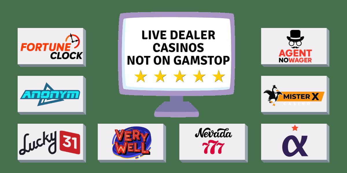 non GamStop live dealer casinos