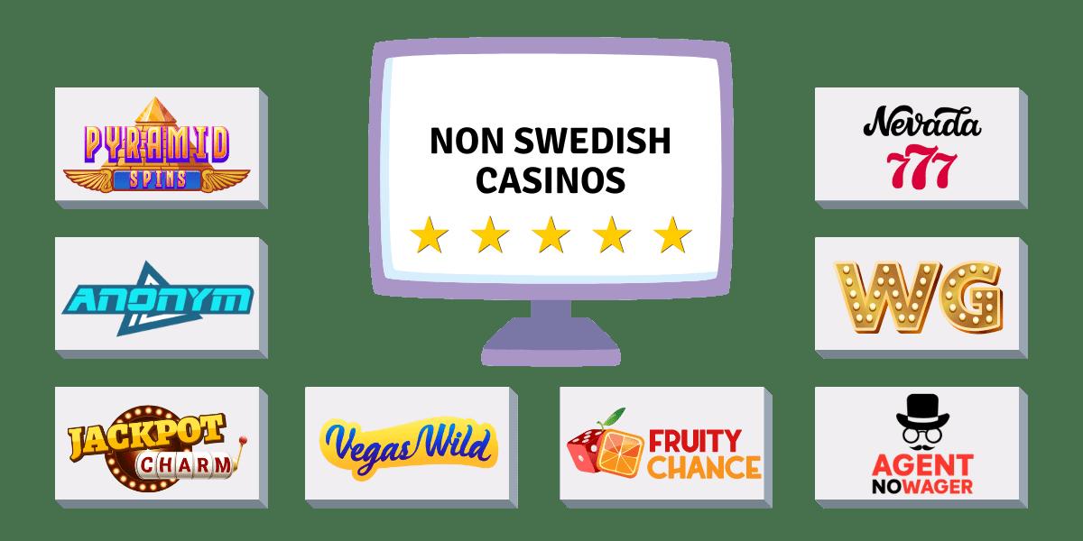 non Swedish casinos