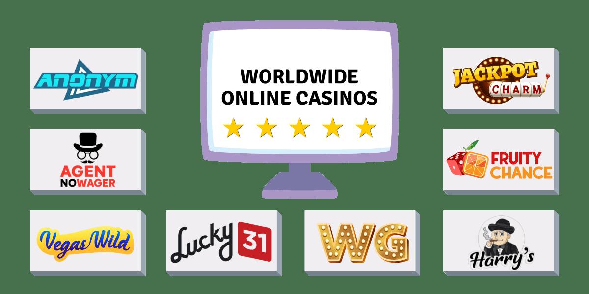 worldwide online casinos